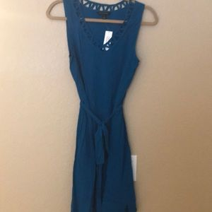 Never worn blue dress Banana Republic!